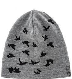 Серая трикотажная шапка Capo