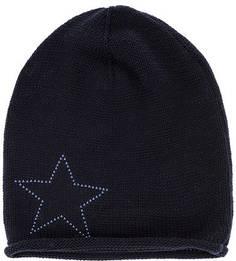 Трикотажная шапка с декоративной отделкой Capo