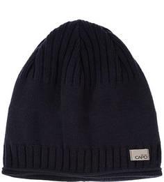 Синяя хлопковая шапка Capo