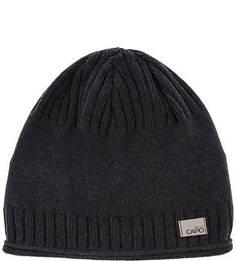 Серая хлопковая шапка Capo