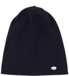 Синяя вязаная шапка из вискозы Capo