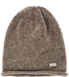 Коричневая трикотажная шапка Capo