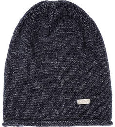 Синяя трикотажная шапка Capo
