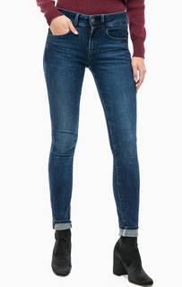 Синие джинсы скинни G Star RAW
