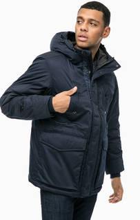 Синяя демисезонная куртка с капюшоном G Star RAW