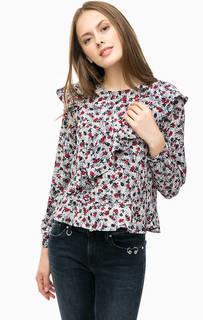 Блуза с цветочным принтом Mavi