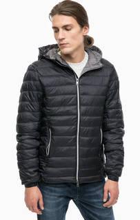 Черная куртка с капюшоном Alcott