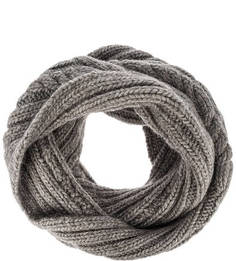 Вязаный шарф-хомут с косами Noryalli