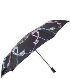Складной зонт с куполом из сатина Flioraj