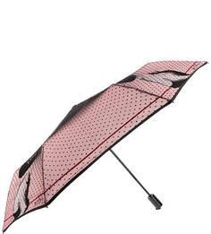 Складной зонт с куполом в горошек Flioraj