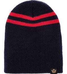 Синяя вязаная шапка Goorin Bros.