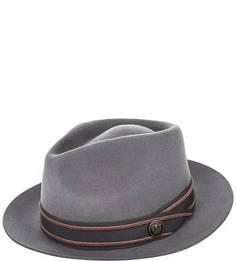Серая шерстяная шляпа Goorin Bros.