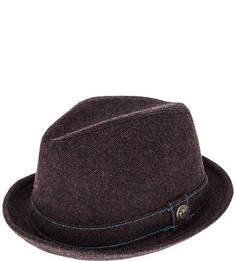 Коричневая фетровая шляпа Goorin Bros.