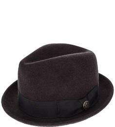 Коричневая шерстяная шляпа Goorin Bros.
