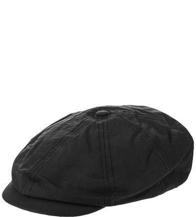Черная хлопковая кепка