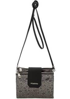 Маленькая замшевая сумка через плечо Fiato