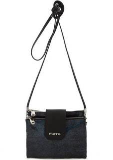 Маленькая сумка с двумя отделами через плечо Fiato