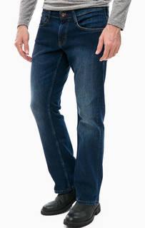 Синие расклешенные джинсы Mustang