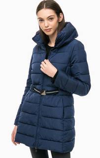 Удлиненная куртка синего цвета Kocca