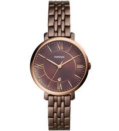 Кварцевые часы с металлическим браслетом Fossil