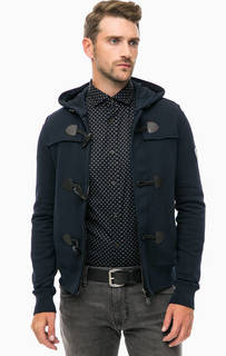 Трикотажная куртка с капюшоном Armani Jeans