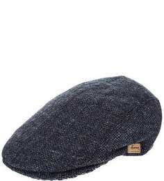 Синяя шерстяная кепка Herman