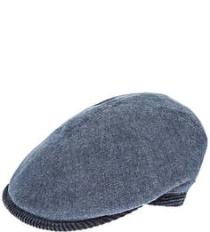Синяя кепка из хлопка Herman