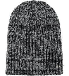 Серая шапка мелкой вязки Herman