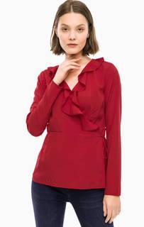Красная блуза с запахом Vero Moda