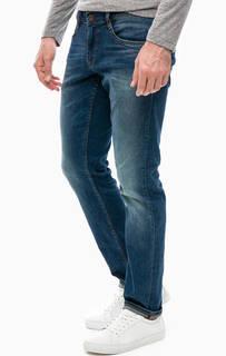 Синие джинсы с низкой посадкой Mustang
