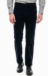 Вельветовые брюки синего цвета Mustang
