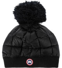 Утепленная шапка с пуховым наполнителем Canada Goose