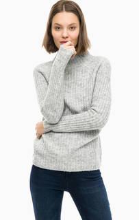 Серый трикотажный свитер Lerros
