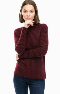Бордовый трикотажный свитер Lerros