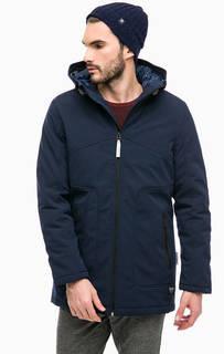 Куртка синего цвета с капюшоном Tom Tailor Denim