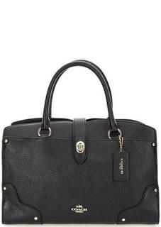 Кожаная сумка с короткими ручками Coach