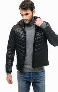 Черная куртка с капюшоном Gaudi