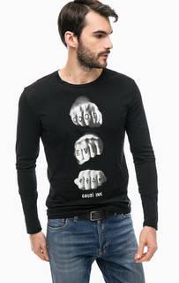 Хлопковая футболка с принтом Gaudi