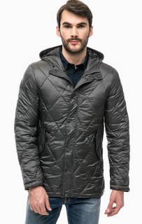 Стеганая куртка серого цвета Gaudi