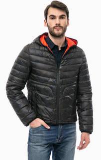 Демисезонная куртка с камуфляжным принтом Gaudi