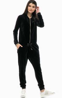 Бархатный комбинезон с эластичными манжетами Liu Jo Sport
