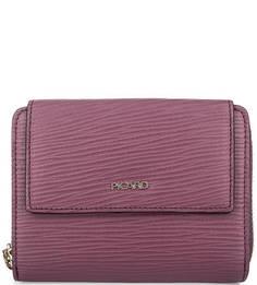 Фиолетовый кожаный кошелек Picard