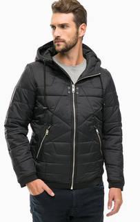 Стеганая куртка с капюшоном Diesel