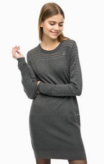 Короткое трикотажное платье Luhta