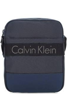 Маленькая текстильная сумка через плечо Calvin Klein Jeans