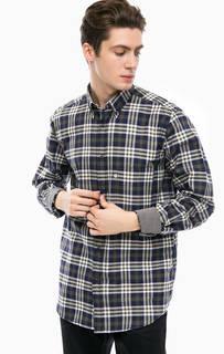 Рубашка в клетку с нагрудным карманом Navigare