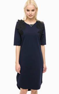 Платье-свитшот с кружевными нашивками Scotch&Soda