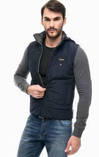 Куртка со скрытым капюшоном Aeronautica Militare