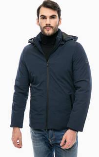 Удлиненная куртка со съемным капюшоном Liu Jo Uomo