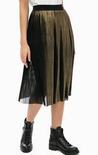 Плиссированная юбка средней длины Liu Jo